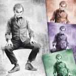 Joker by Heath Ledger