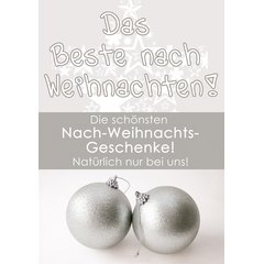 Poster Plakat After X-MAS SALE - Das Beste nach...