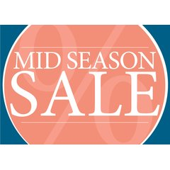 Poster Plakat - Midseason Sale Serie Lisa Orange...