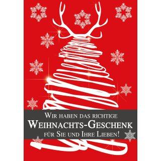 plakat poster weihnachten das richtige geschenk din a1 59 4 x. Black Bedroom Furniture Sets. Home Design Ideas